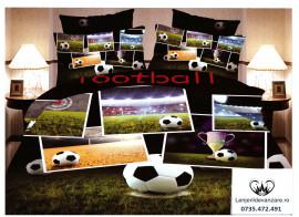 Lenjerie Football (Bumbac Satinat 3D 1+1 GRATIS)